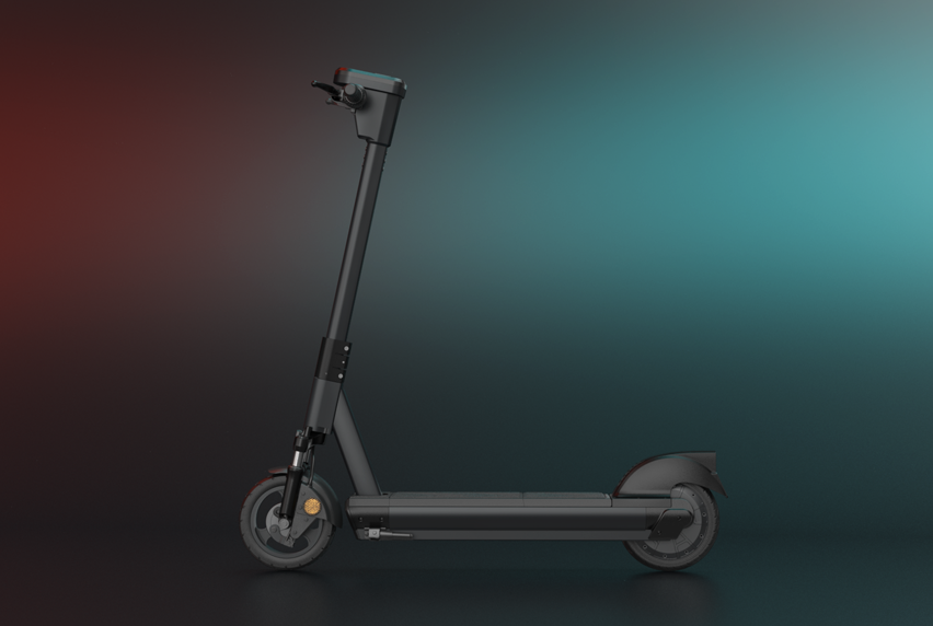 E60 Shared electric scooter video