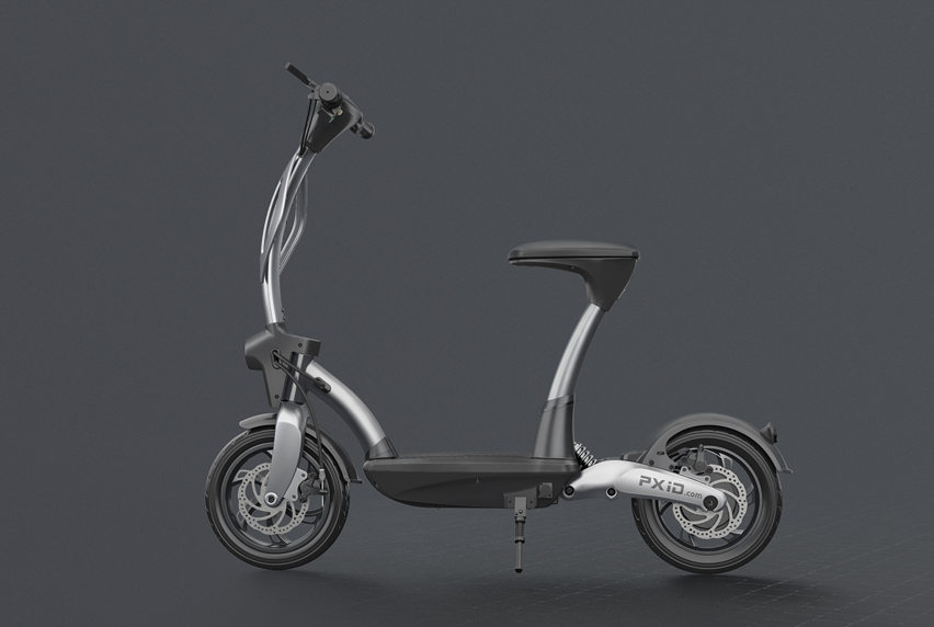 AD electric bicycle video