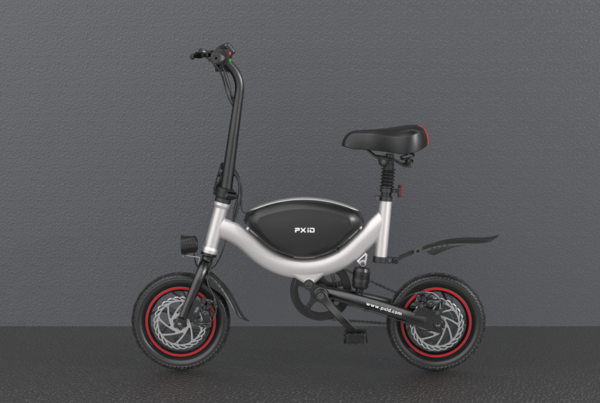 M1 electric bicycle video