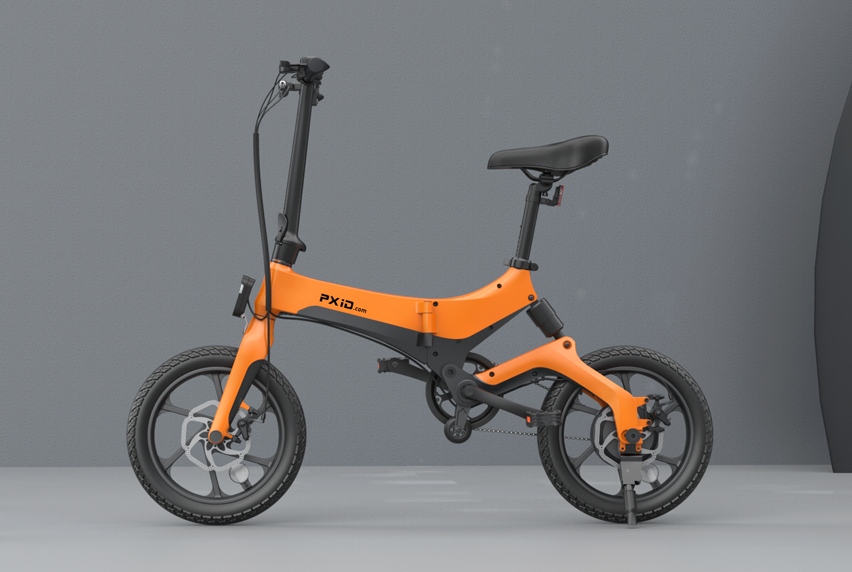 S6 electric bicycle video