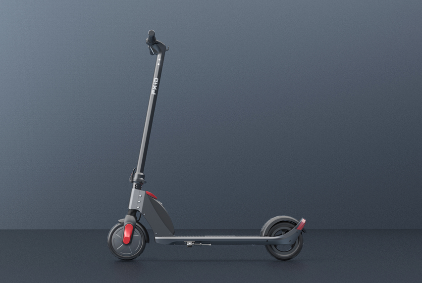 P1 electric scooter video