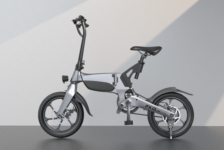 P2 electric bicycle video